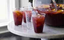 PARTY SANGRIA - perfect for big summer parties, fall gatherings, and holiday festivities.  Consider doubling this.