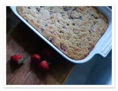 """Oat Berry Breakfast cake.- Meh. One of those """"hasn't had a real coffee cake in too long"""" recipes. I added spices, and still bland."""
