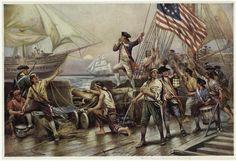 """I have not yet begun to fight!"" John Paul Jones (Artist Unknown)"