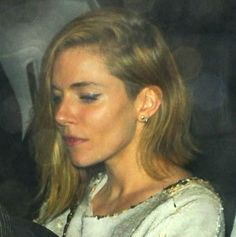 Sienna Miller's new length long bob|Lainey Gossip Entertainment Update