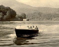 Boating on Lake Lure, NC