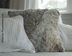Текстиль, ковры ручной работы. Ярмарка Мастеров - ручная работа Декоративная подушка ручной работы. Handmade.