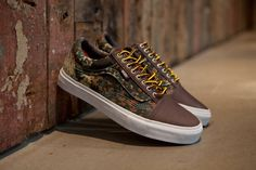 cd8f44b1fa20b4 Carhartt WIP x Vans Syndicate 2012 Fall Old Skool Camo The camo design  isn t normally what i d go for