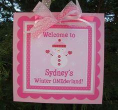 Georgianne's winter ONEderland birthday :)