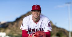 Los Angeles Angels pitcher Tyler Skaggs poses for a portrait during the Los Angeles Angels photo day on Tuesday Feb 19 2019 at Tempe Diablo Stadium. Mlb, World Of Sports, Texas Rangers, Over Dose, Major League, Going Out, Death, Poses, Let It Be