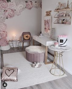 The way you decorate your home is somehow similar to choosing beautiful clothes to wear on a daily basis. An impressive interior decoration of your home or office is essential for your own state of mind, if nothing else. Interior, Home Decor, Room Inspiration, Apartment Decor, Room Decor, Bedroom Decor, Cute Room Decor, Online Furniture Stores, Girl Bedroom Decor