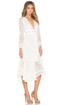 Zimmermann Admire Cherry Dress in Ivory | REVOLVE
