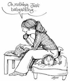 """This one is for you, Jessica :) Best """"babysitter"""" ever!"""