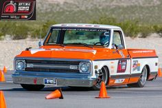 Phil Gerber in the Roadster Shop's Chevrolet C10 pickup on Forgeline RB3C Concave wheels.