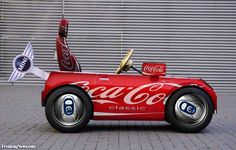 Coca Cola Coke Can Mini Car