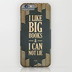 I like big books and i can not lie iPhone & iPod Case