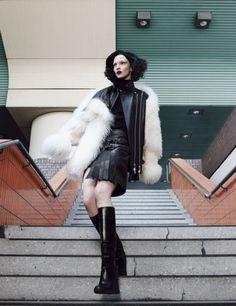 Mariacarla Boscono by Emma Summerton for W Magazine September 2014 2