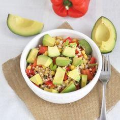 Buckwheat Avocado Summer Salad