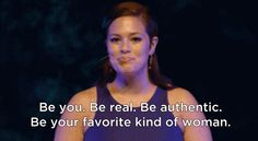 … and when she encouraged them make the best of what they've got. | 20 Most Righteous Moments From Bombshell Model Ashley Graham's TED Talk