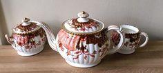 Lovely Antique Royal Crown Derby Teapot Cream & Sugar Set Imari circa 1888 | Pottery & Glass, Pottery & China, China & Dinnerware | eBay!