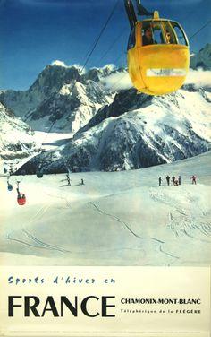 Chamonix Mont Blanc - France - 1956 - Photo Gay Couttet -