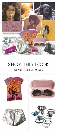 """""""Beauty is all around us"""" by elliewriter ❤ liked on Polyvore featuring CO, Miu Miu, Mudd, CLEAN, Dr. Martens and polyvorepoc"""