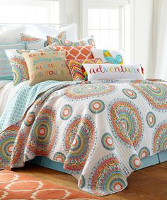 Look at this #zulilyfind! Mayla Quilt Set by Levtex Home #zulilyfinds