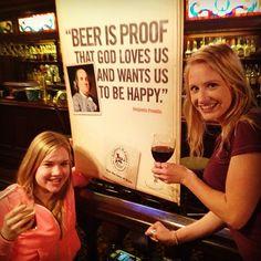 Beer is proof! Wine too?!