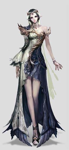 Cute fantasy girl