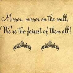 Mirror Mirror On Wall | Wall Decals - Trading Phrases
