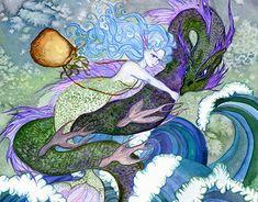Eye Illustration, Illustrations, Watercolor Paper, New Work, Mermaids, Appreciation, Artsy, Behance, Profile