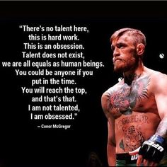 champion Conor McGregor has a great perspective on what it takes to be successful UFC champion Conor McGregor on what it takes to be successful .UFC champion Conor McGregor on what it takes to be successful . Wisdom Quotes, Quotes To Live By, Me Quotes, Motivational Quotes, Inspirational Quotes, Fitness Quotes, Fitness Motivation, Bodybuilding Motivation Quotes, Lifting Motivation