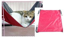Kailian Pet Cage HammockRedS ** This is an Amazon Affiliate link. Click image for more details.