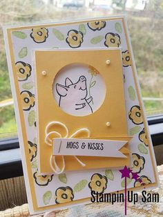 This Little Piggy, 2017-2018 Stampin Up!