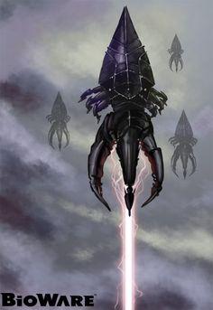 Harbingerforweb by morepaul on DeviantArt Mass Effect Tattoo, Mass Effect Art, Mass Effect Reapers, Titan Ae, Mass Effect Universe, No Man's Sky, Video Game Art, Video Games, Sci Fi Ships