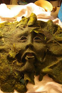 green man from Felt Inspiration blog