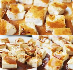 Healthy recipe: toasted tofu with ginger sauce. Super tangy and sweet, this sauce was awesome--and even more awesome with healthy tofu! #cleaneating #cleaneatingdiet #healthyrecipe