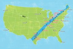 Eclipse Best Cities to Visit for the Next Solar Eclipse in 2024 - Thrillist - Start planning your trip now. 2024 Eclipse, Next Solar Eclipse, Huron Ohio, It's Going Down, Our Solar System, Best Cities, Plan Your Trip, Astronomy, City