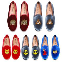 For all the #Emoji lovers in the world.. Check out the new emoji #slippers crafted by @deltoroshoes! #DelToro #EmojiSlippers