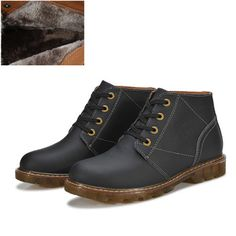 Free shipping New2014 Winter autumn Men shoes Italian Handmade shoes Cow Muscle Materials ballet flats combat boots black