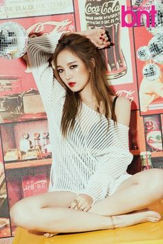 miss A's Jia chooses EXO's Tao as her ideal 'We Got Married' partner + photoshoot with 'International bnt'   allkpop.com