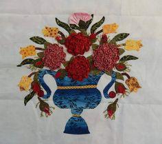 """Résultat de recherche d'images pour """"fleurs pliage textile en relief baltimore"""""""