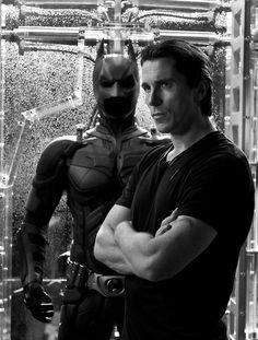 Christian Bale as Bruce Wayne/Batman in Batman Begins, The Dark Night & The Dark Night Rises