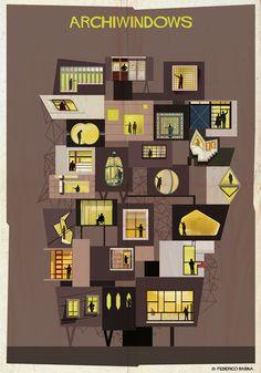 "ARCHIWINDOW: A Glimpse Through ""The Eyes of Architecture"", Courtesy of Federico Babina"