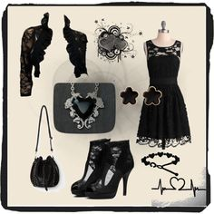 Total Black uploaded by on ShopLook Total Black, Polyvore, Outfits, Shopping, Design, Women, Fashion, Moda, Suits
