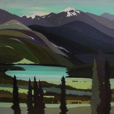 Lorna is an artist who works in a variety of media. Canadian Painters, Canadian Artists, Pretty Pics, Pretty Pictures, Small Paintings, Art Paintings, Landscape Art, Landscape Paintings, Painting Inspiration