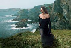 Daria Werbowy in Ireland