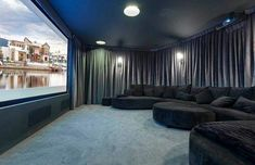 Fabuluos DIY Basement Home Theater Ideas and Inspiration for Your Epic Room