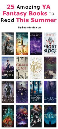 List of teen fantasy