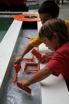 Giochi d'acqua   Explora il museo dei bambini di Roma