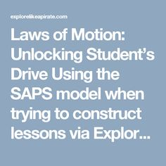 Laws of Motion: Unlo