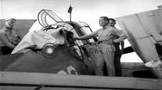 US Navy TBF Avenger gunner from USS Essex is buried at sea with his air...