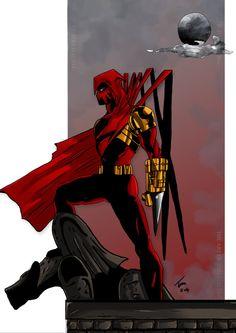 Azrael the killer batman by ARTofTomMalin on Etsy The New Batman, Im Batman, Batman The Dark Knight, Batman Art, Azrael Dc Comics, Comics Universe, Batman Universe, Dc Comics Characters, Comic Art