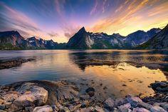 "Visa bild - ""Reinefjorden"" - Fotosidan"