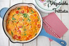 Vegetable Frittata from Weelicious.com